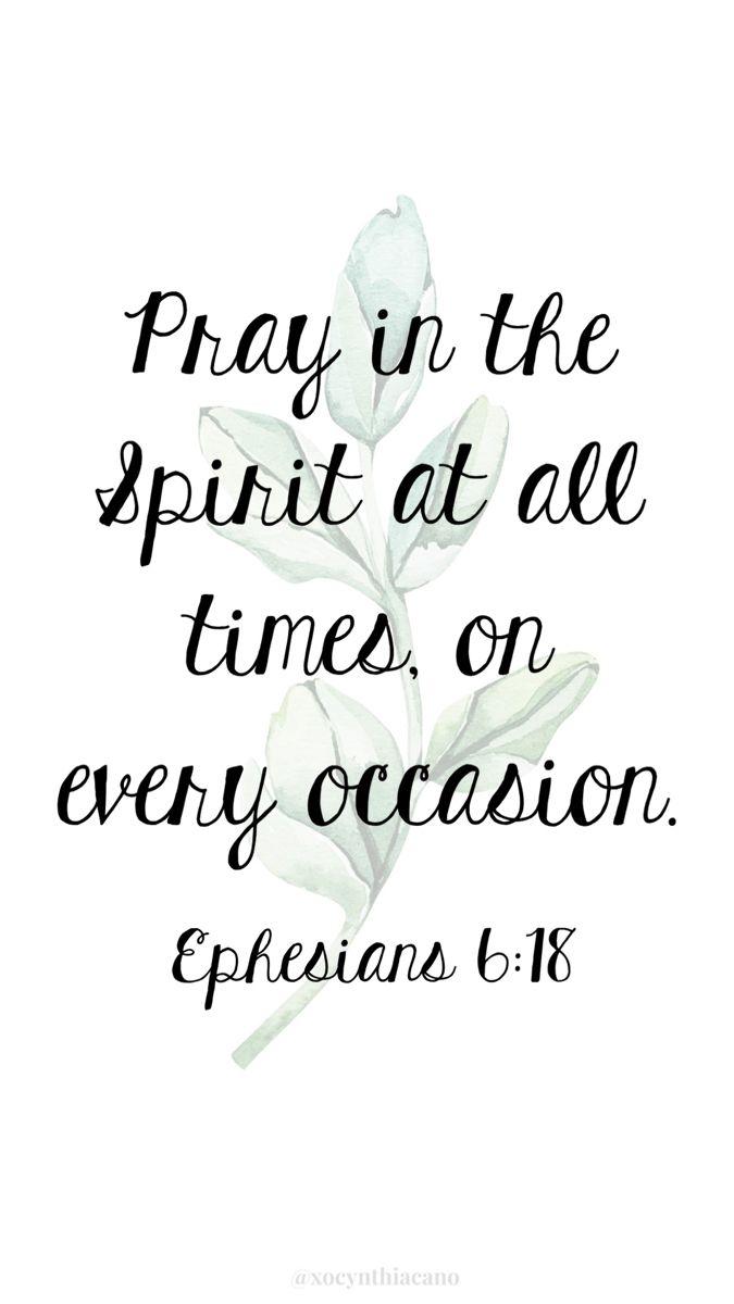 Ephesians 6_18