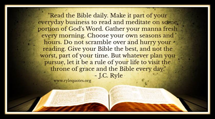 Bible Quotes by JC RYLE